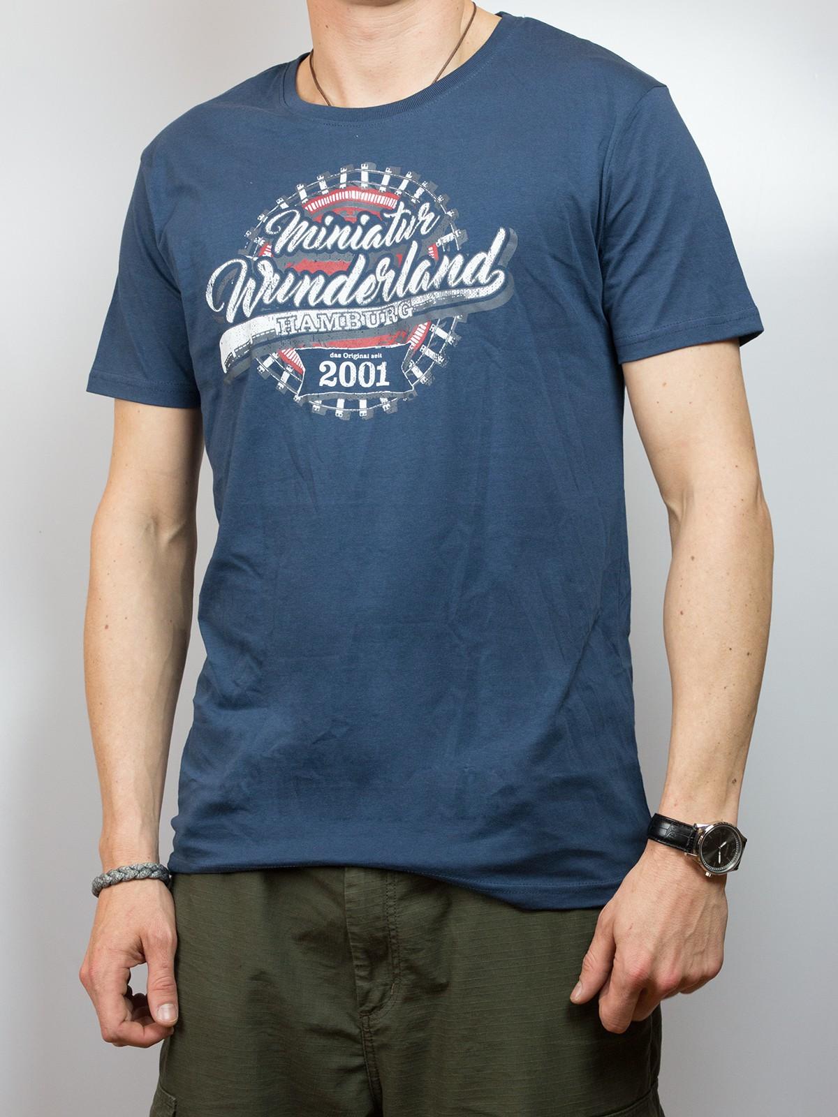 """T-Shirt """"Miniatur Wunderland seit 2001"""""""