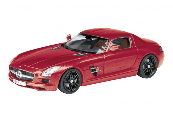 Schuco 25855  - Mercedes Benz SLS, rot