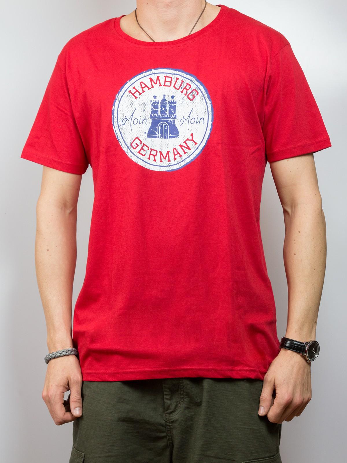 """T-Shirt """"Hamburg Germany moin moin"""""""