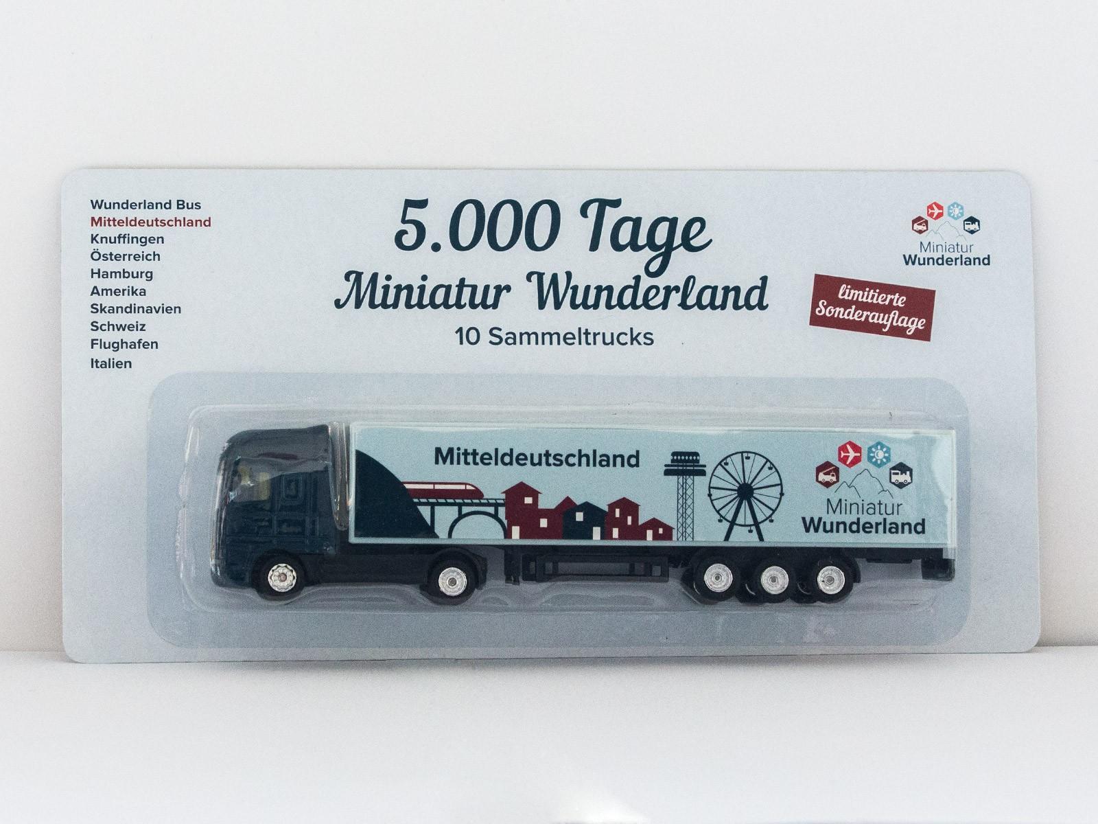 """Truck """"5000 Tage Wunderland"""" - Mitteldeutschland"""