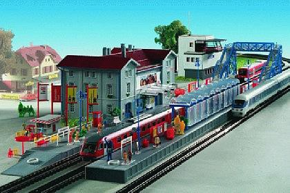 """Kibri 7702 N S-Bahn Station """"Sulzbach"""""""