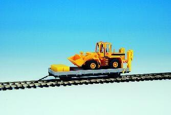 Kibri 16308 H0 Anhänger 55.54 m. Baugerät