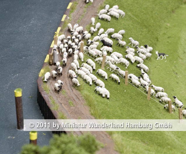Panini 2011 Bild Nr 098  Miniatur Wunderland