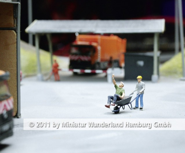 Panini 2011 Bild Nr 099  Miniatur Wunderland