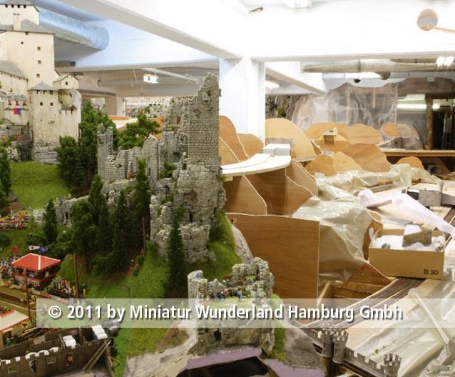 Panini 2011 Bild Nr 166  Miniatur Wunderland