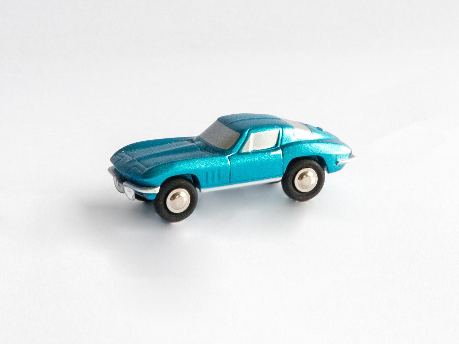 Schuco Piccolo 05660 Chevrolet Corvette Stingray blau metallic