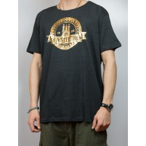T-Shirt Hamburg Wappen - gold -