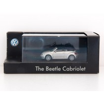 Wiking H0 VW Beetle Cabriolet silber Sammlermodell