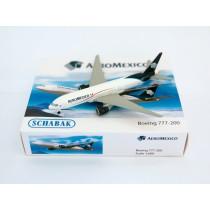 Schuco/Schabak 3551584 Boeing 777-200 AeroMexico 1:600