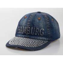"Baseball-Cap ""Hamburg""  Strass"