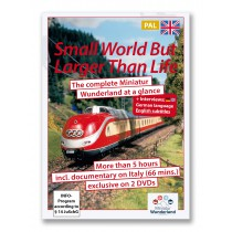 DVD 'A small world, but larger than life' PAL-System incl Italy