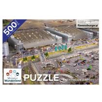 """Puzzle """"Knuffingen Airport"""" 500 Teile von Ravensburger"""