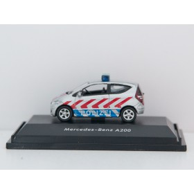 "Welly 73110P1-SW  Mercedes Benz A200 ""Polizei"""