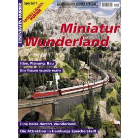 Eisenbahn-Kurier Sonderheft Miniatur Wunderland Band 1