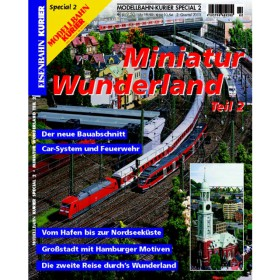 Eisenbahn-Kurier Sonderheft Miniatur Wunderland Band 2