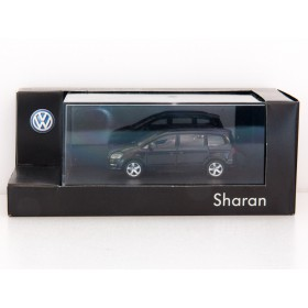 Herpa H0 VW Sharan schwarz Sammlermodell