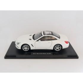 Welly 18046 1:18 Mercedes Benz SL 500 weiß