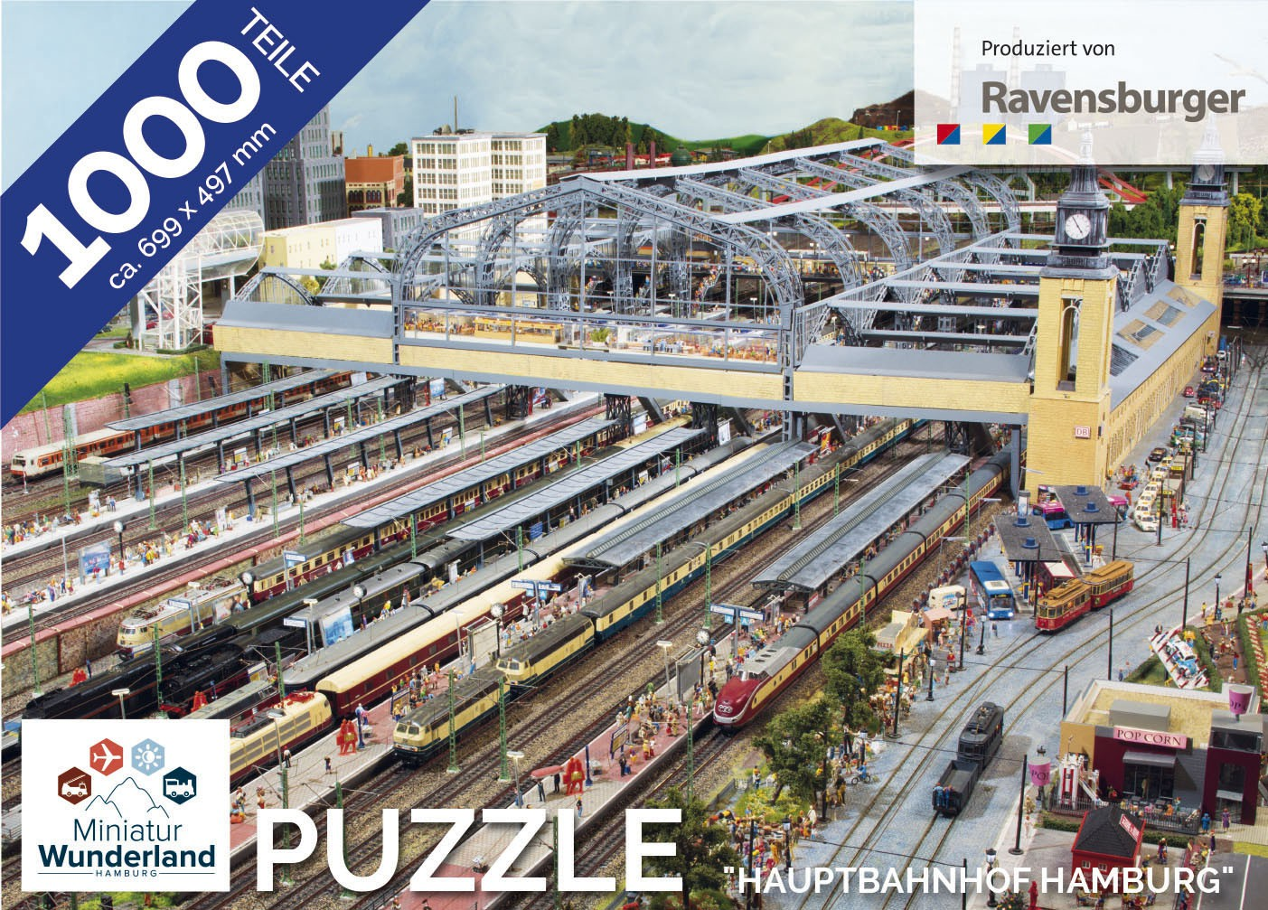 "Puzzle ""Hauptbahnhof"" 1000 Teile von Ravensburger"