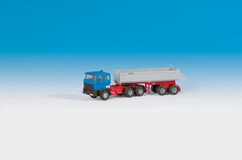 Kibri 14048 H0 DAF ZM mit Kippsattelauflieger