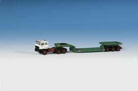 """Kibri 14648 H0 DAF Zugmaschine """"Scheuerle"""" Tieflader"""