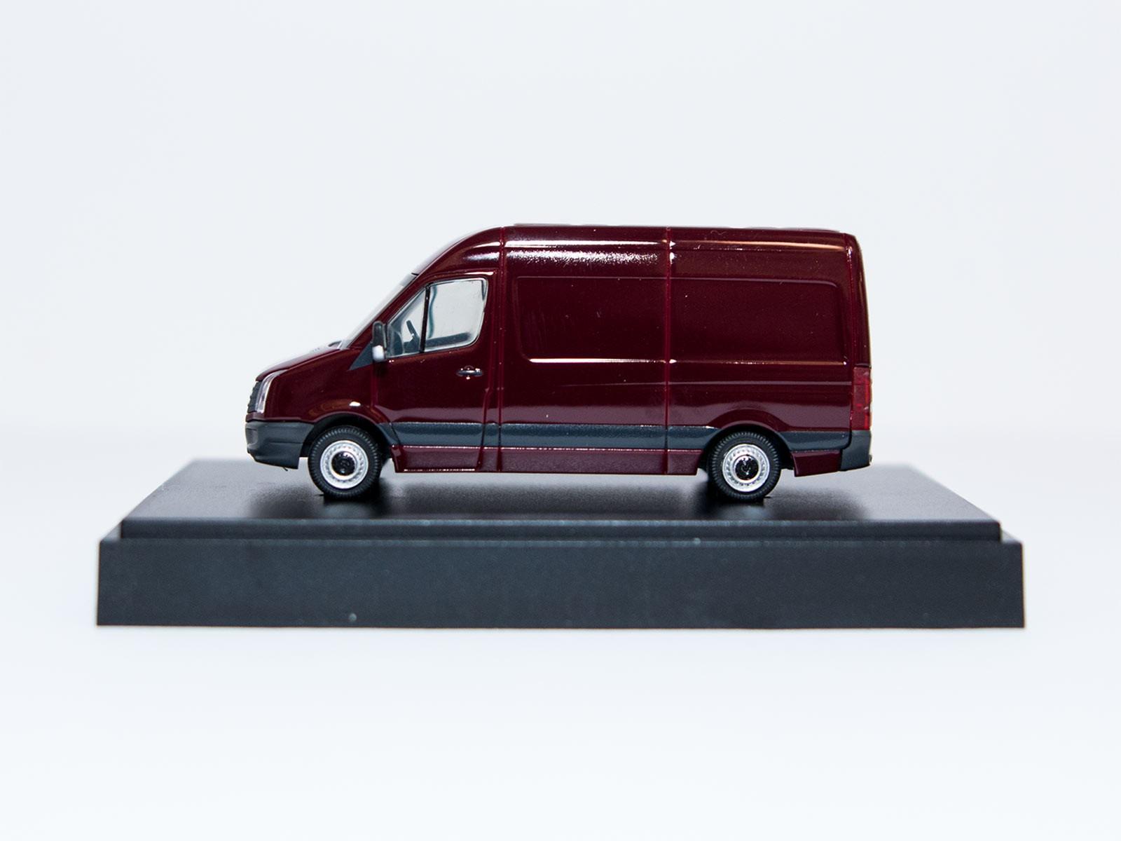 Wiking H0 VW Crafter weinrot Sondermodell