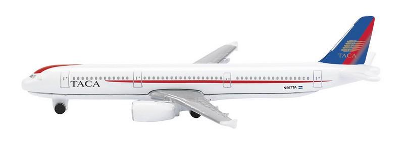 Schuco / Schabak 3551492 Airbus A321 Taca 1:600