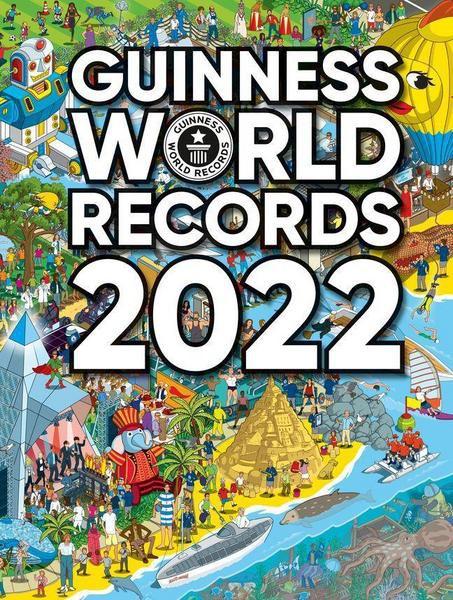 Guinness World Records 2022 - signiertes Exemplar