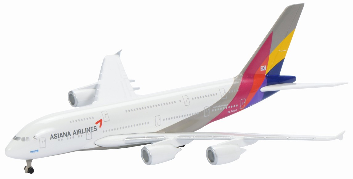 Schuco / Schabak 3551676 Airbus A380-800 Asiana Airlines
