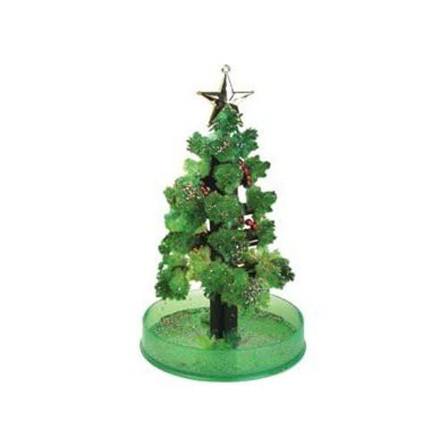 Magischer Kristall-Baum (grün) - Weihnachtsbaum