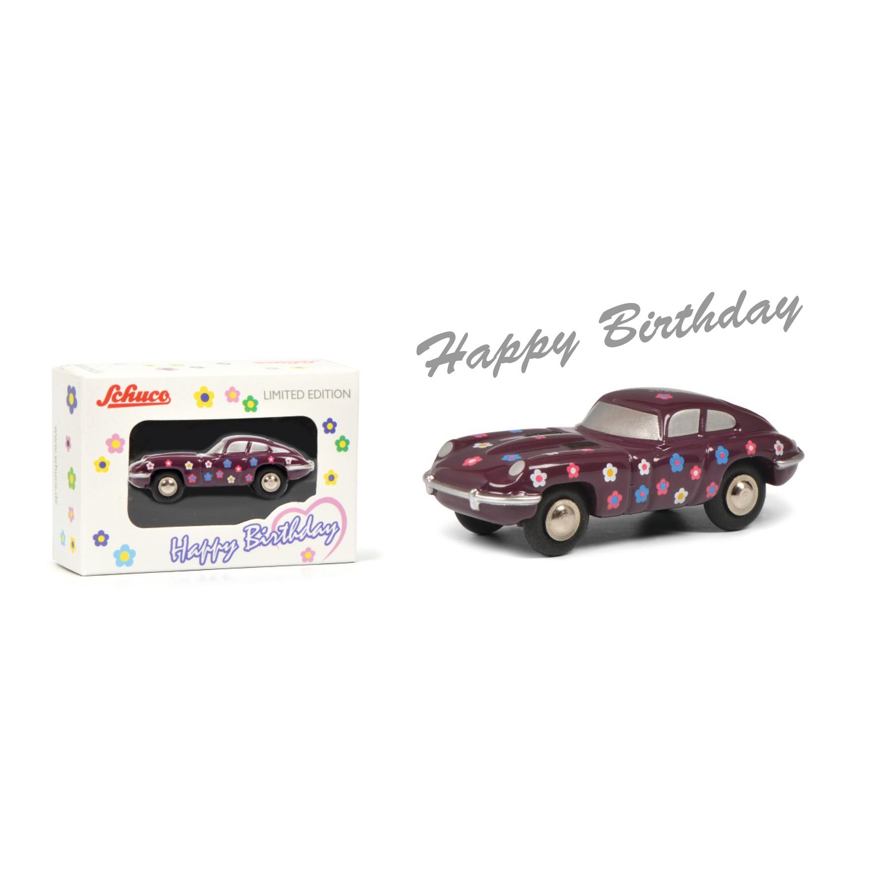 Schuco 450168200 Piccolo Jaguar Happy Birthday 2020