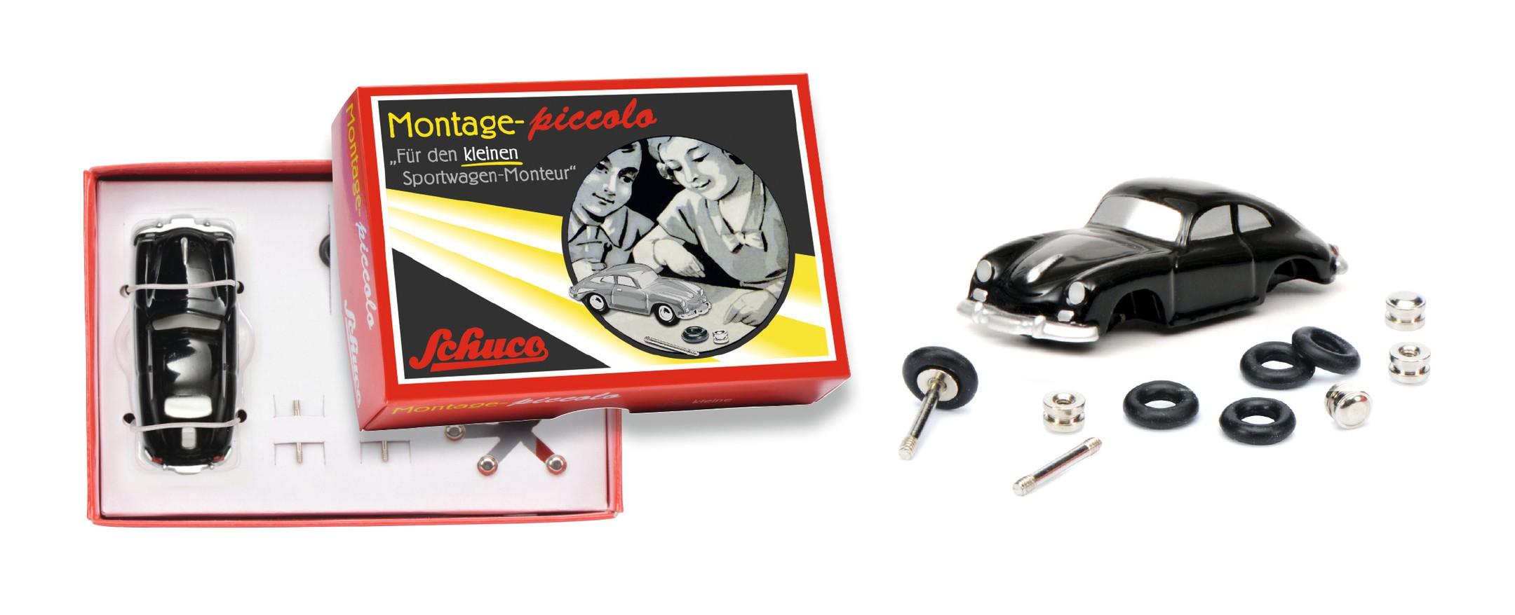 Schuco 450559800 Piccolo Montagekasten Porsche-Monteur