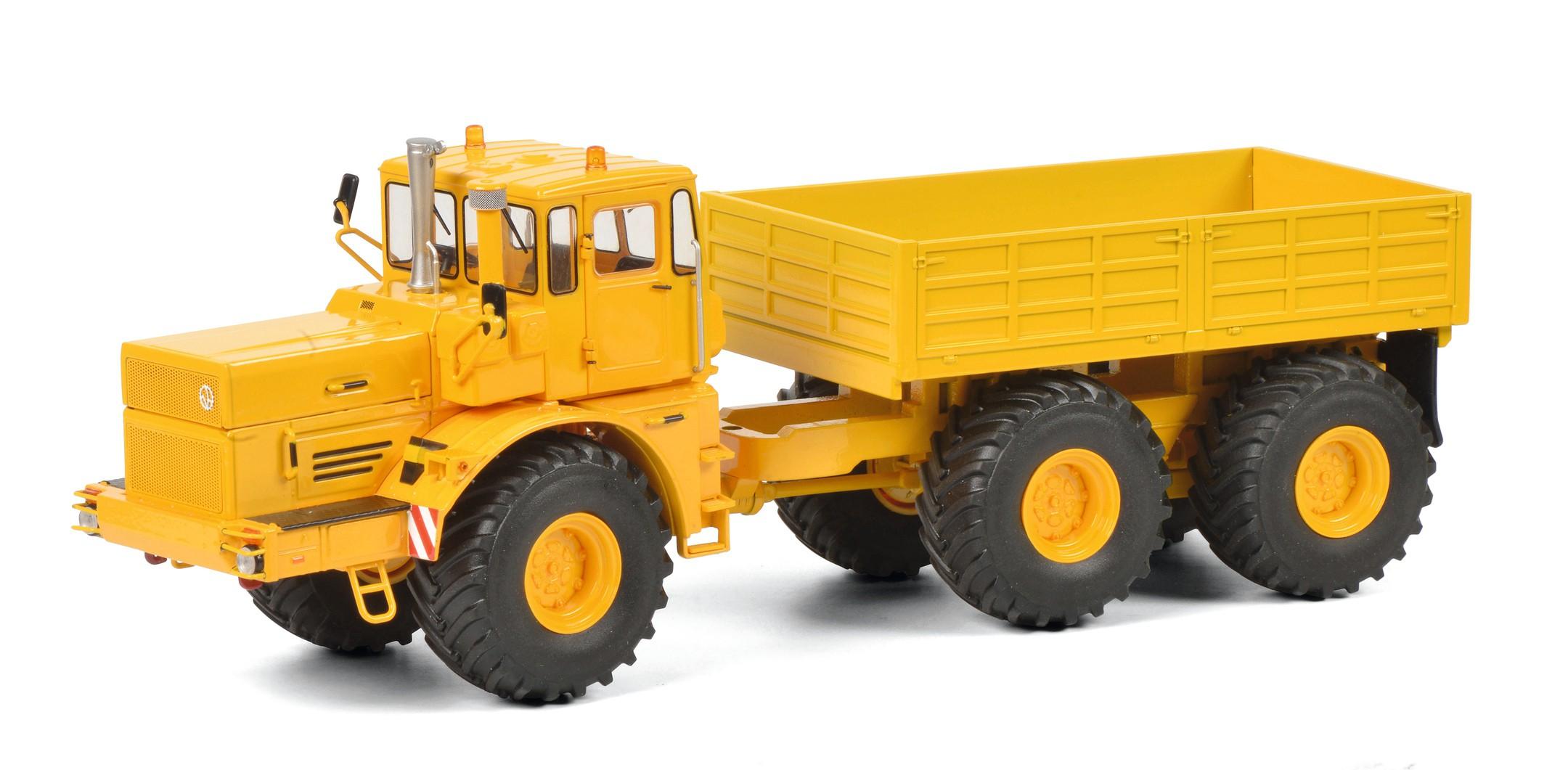 Schuco 450770800 Kirovets K-700 T, gelb 1:32