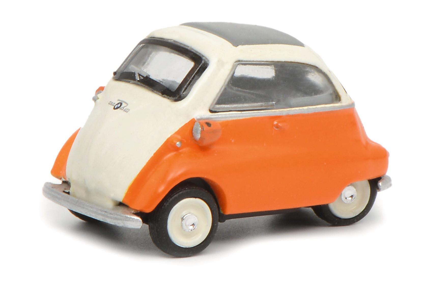 Schuco 26323 BMW Isetta beige-orange 1:87