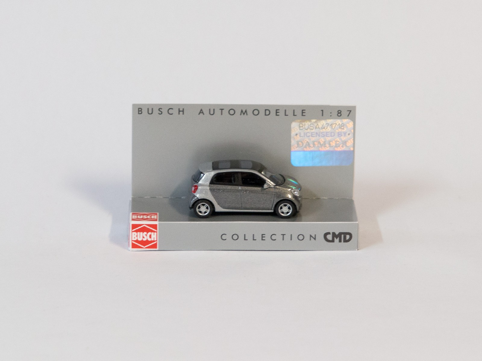 "Busch 49557 Smart Forfour 2014 ""CMD-Collection"", grau"