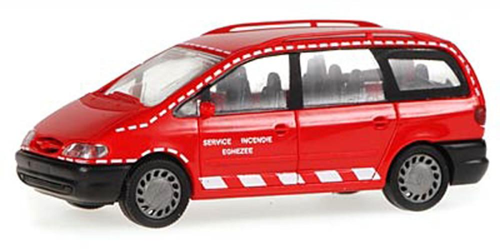 Rietze 50746 Ford Galaxy Feuerwehr Eghezee (BE)