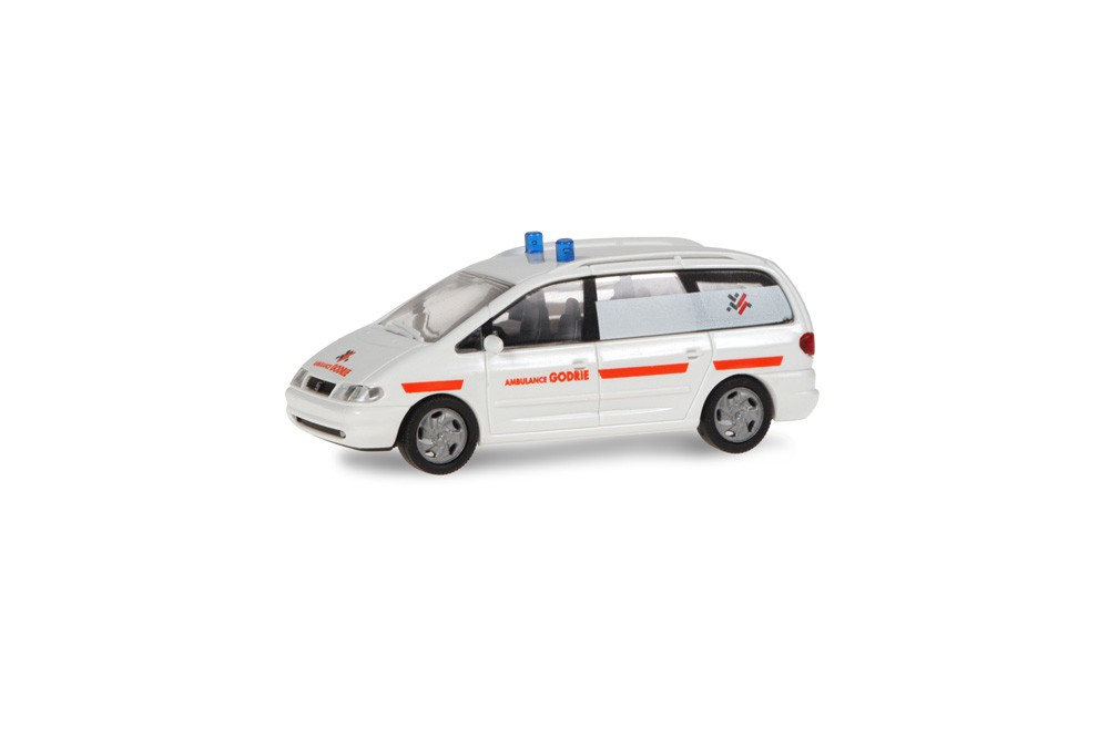 Rietze 50810 Seat Alhambra Ambulance God