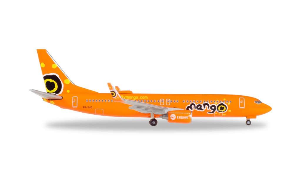 Herpa 531351 Boeing 737-800 Mango 1:500