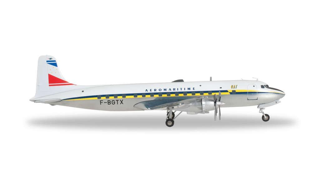 Herpa 556606 Wings Douglas DC-6B UAT 1:200