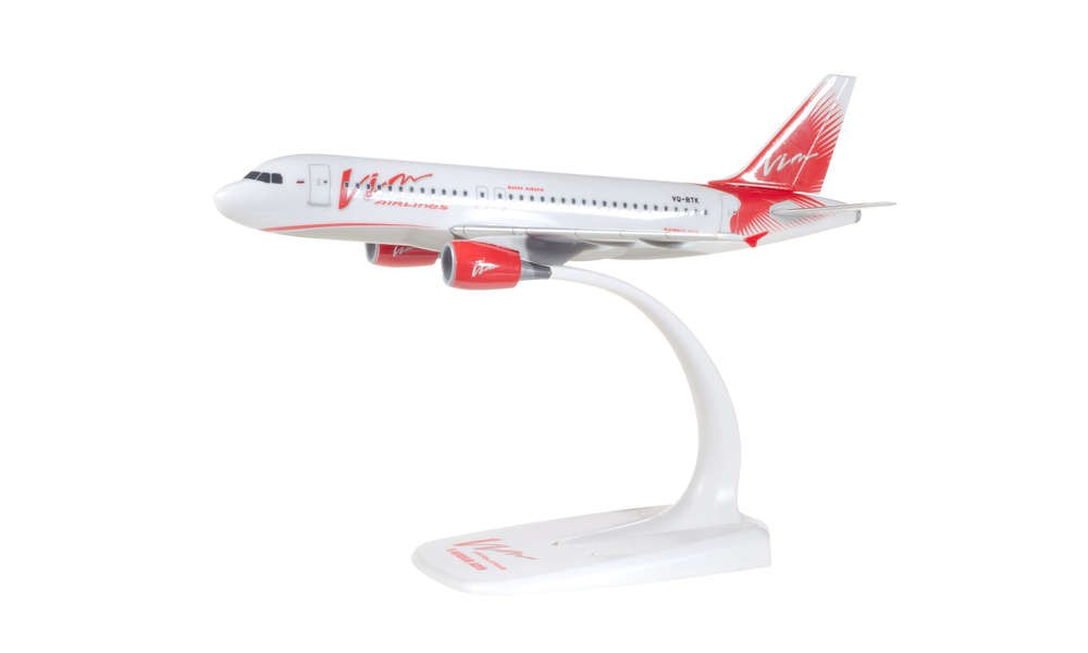 Herpa 611657 Airbus A319 Vim Avia Snap Fit 1:200