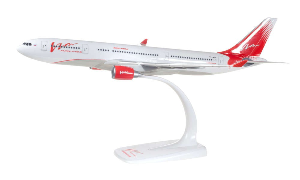 Herpa 611664 Airbus A330-200 Vim Avia Snap Fit 1:200