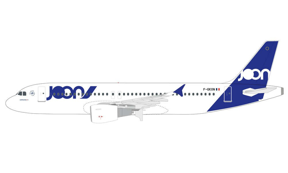 Herpa 611954 Airbus A320 Joon Snap Fit 1:200