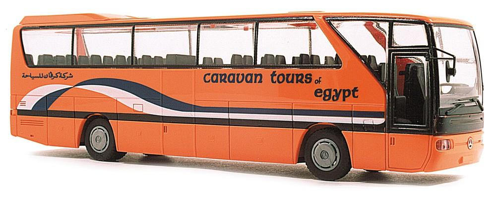Rietze 61263 Mercedes-Benz O 350 RHD Caravan Tours