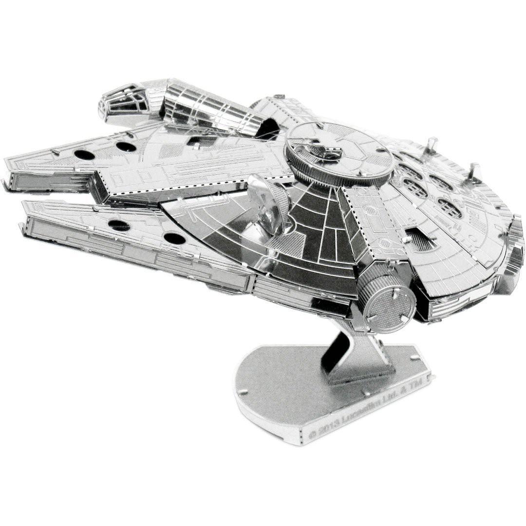 Metal Earth Iconx Star Wars Millenium Falcon Metallbausatz - groß