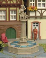 Kibri 8905 Rathaus-Brunnen