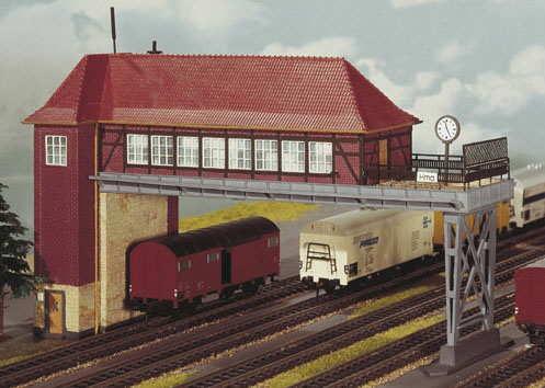 Kibri 9310 Brückenstellwerk Hamm