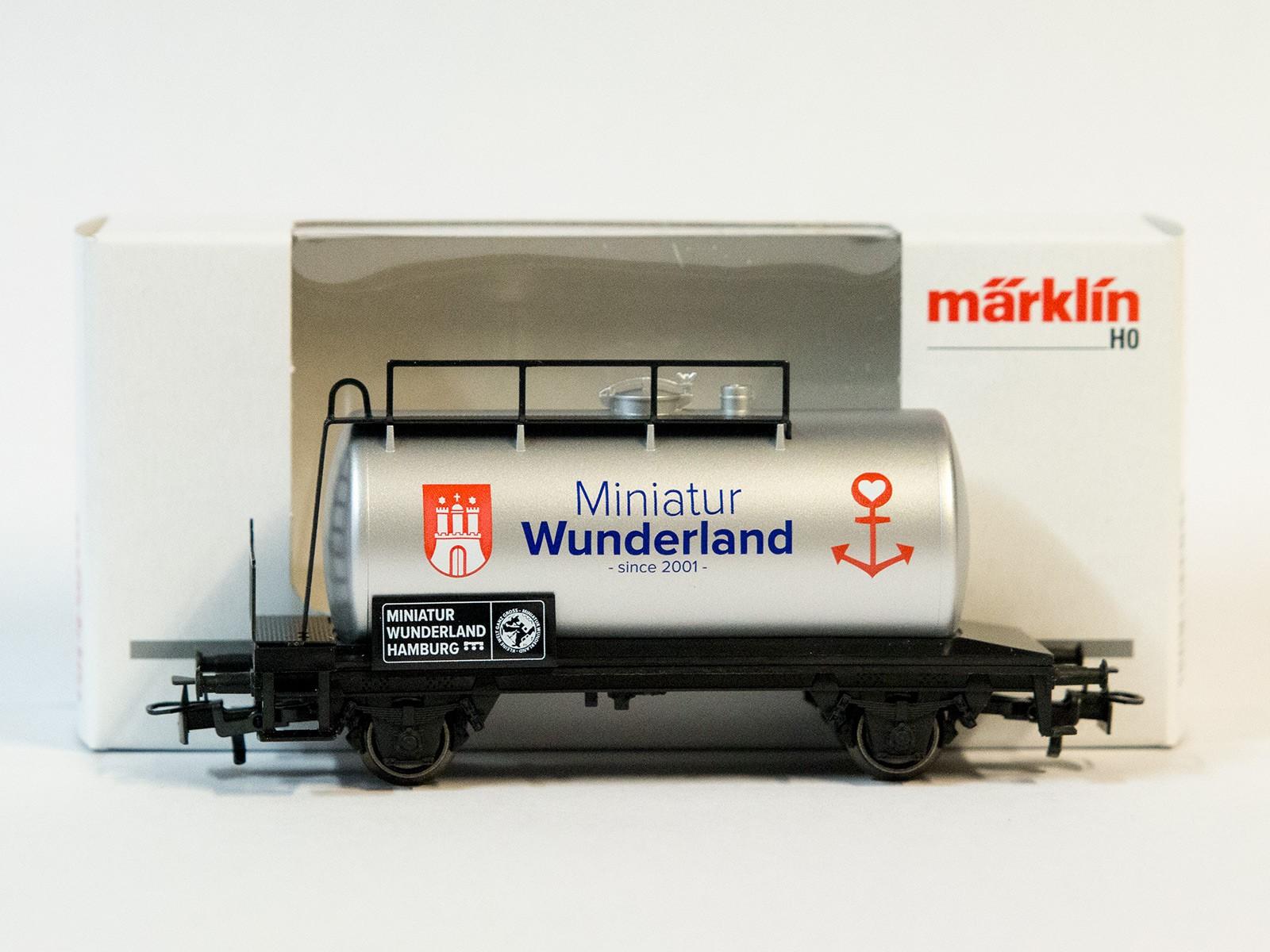 """Limitierter Sonderwagen Z Miniclub Kesselwagen 2018 """"since 2001"""""""