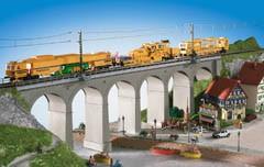 Kibri 9724 Aachtal-Viadukt eingl.