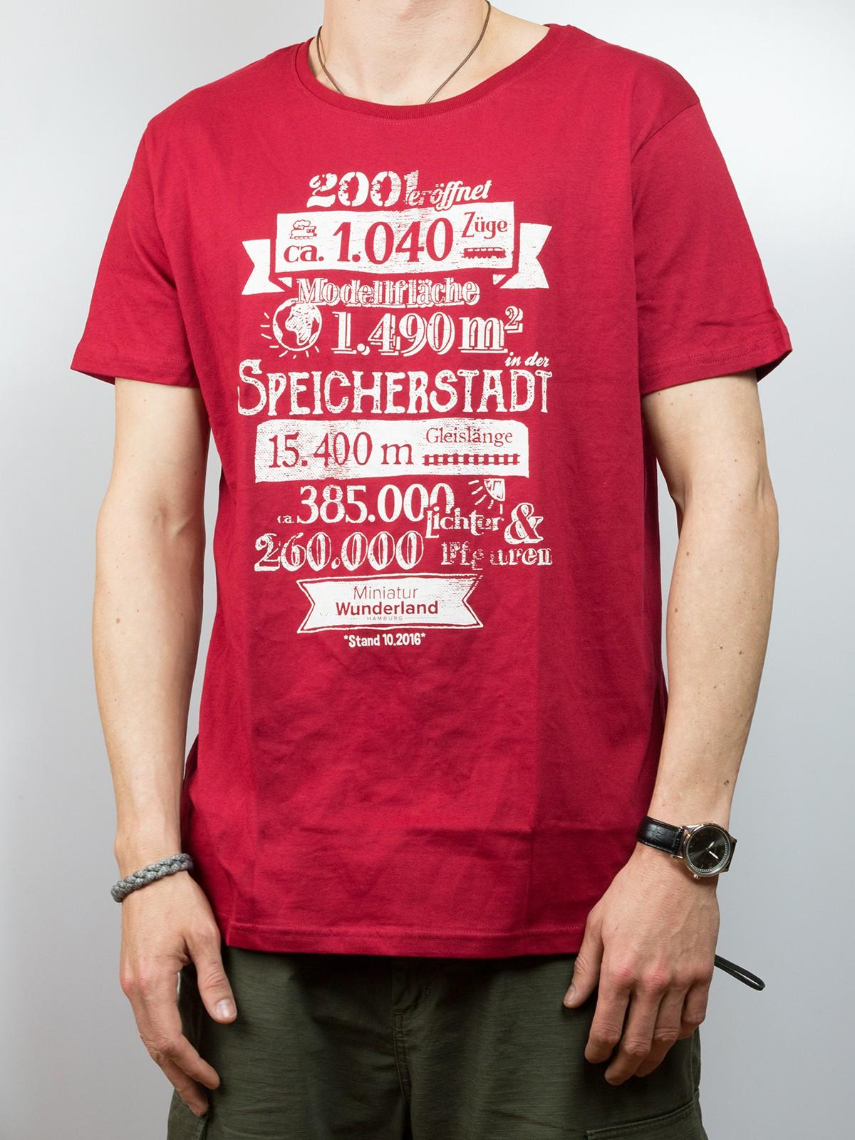 T-Shirt - Miniatur Wunderland Fakten