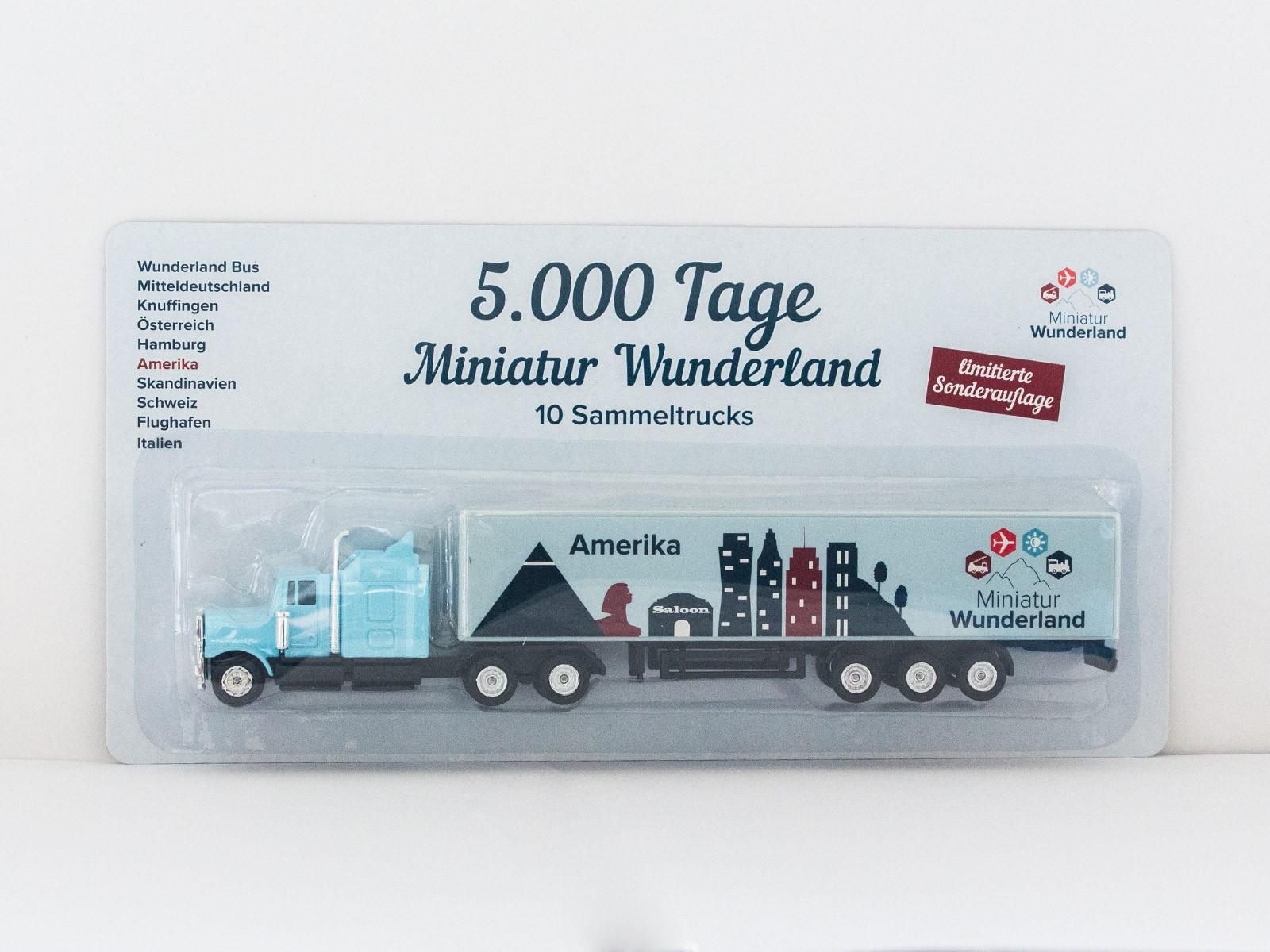 "Truck ""5000 Tage Wunderland"" - Amerika"