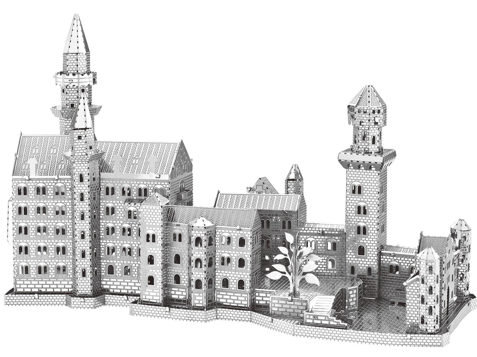Mini-Metallbausatz Schloss Neuschwanstein